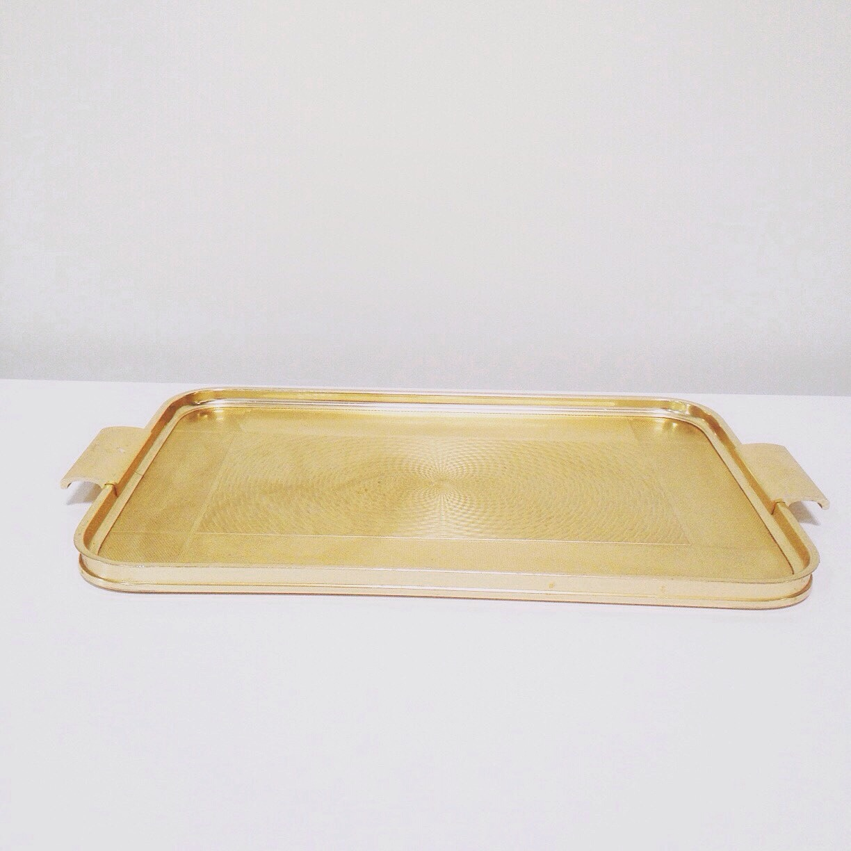 Gold Rectangle Tray