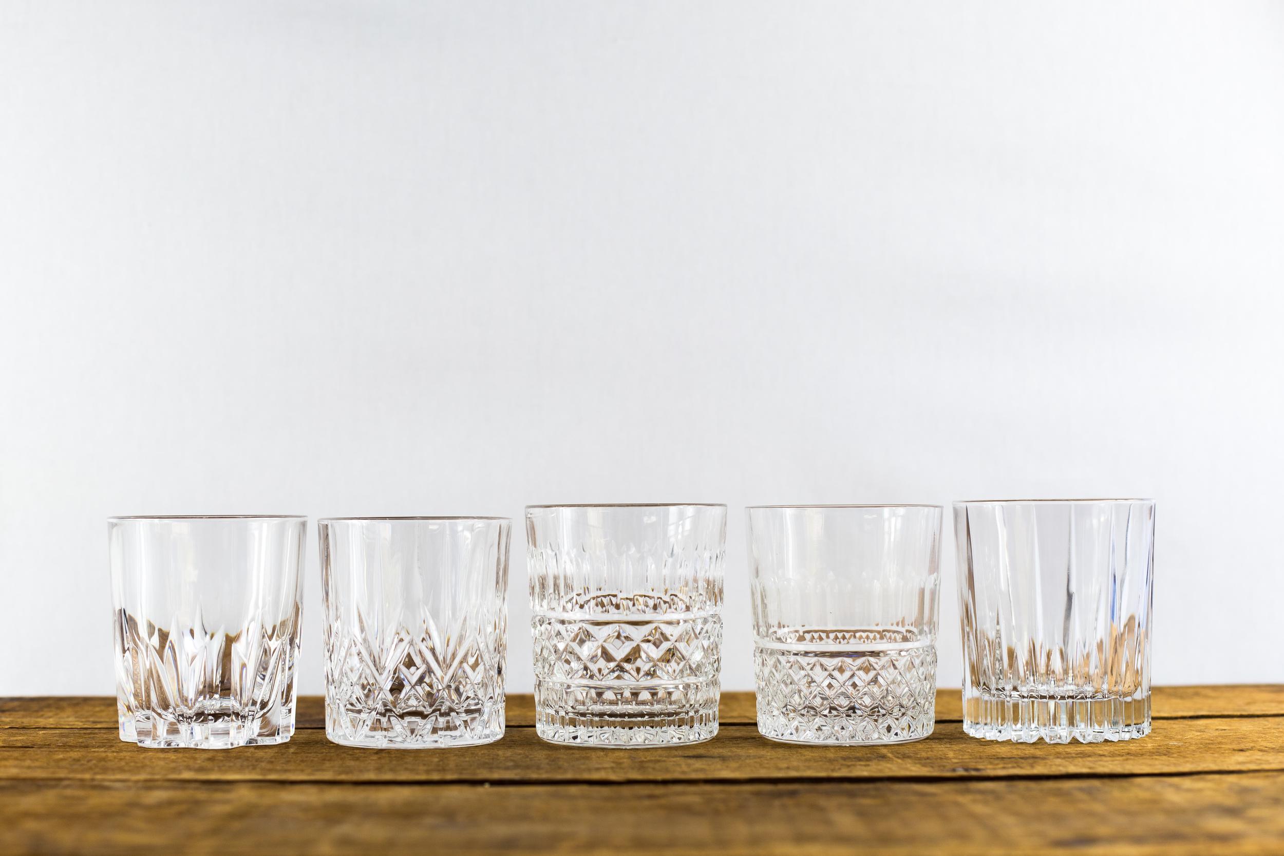 Vintage Rocks Glasses