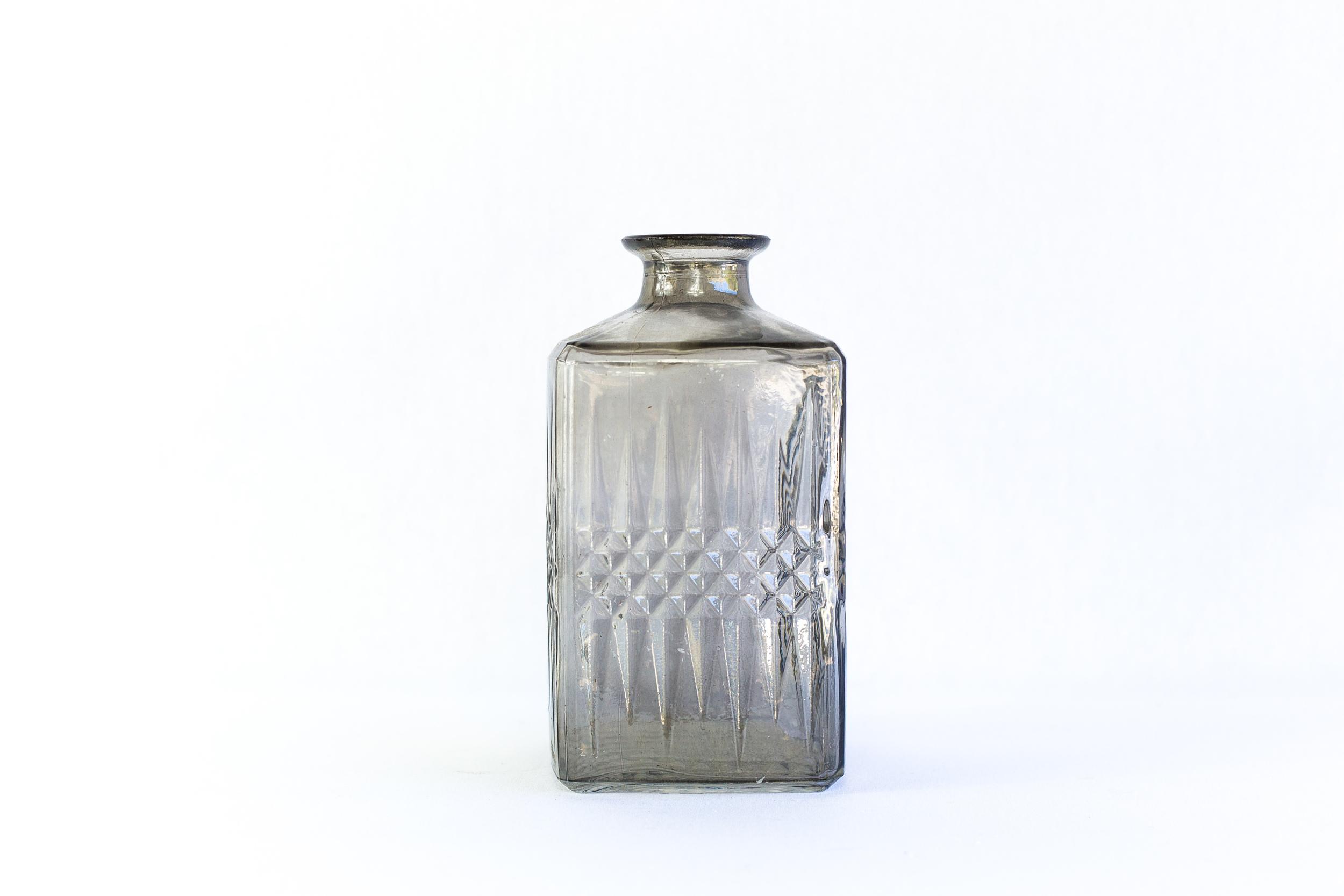Large Gray Bottle