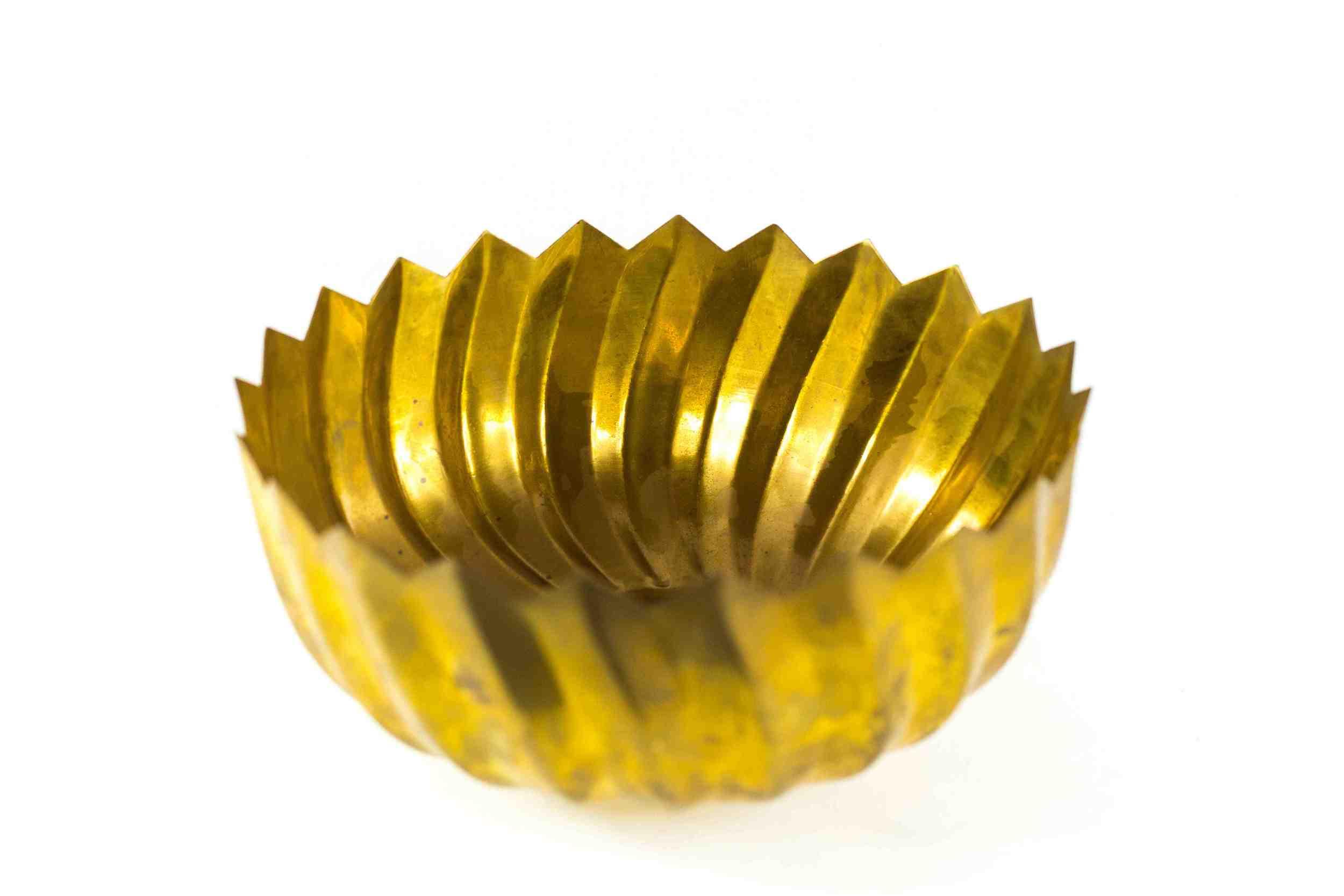 Brass Serving Bowl