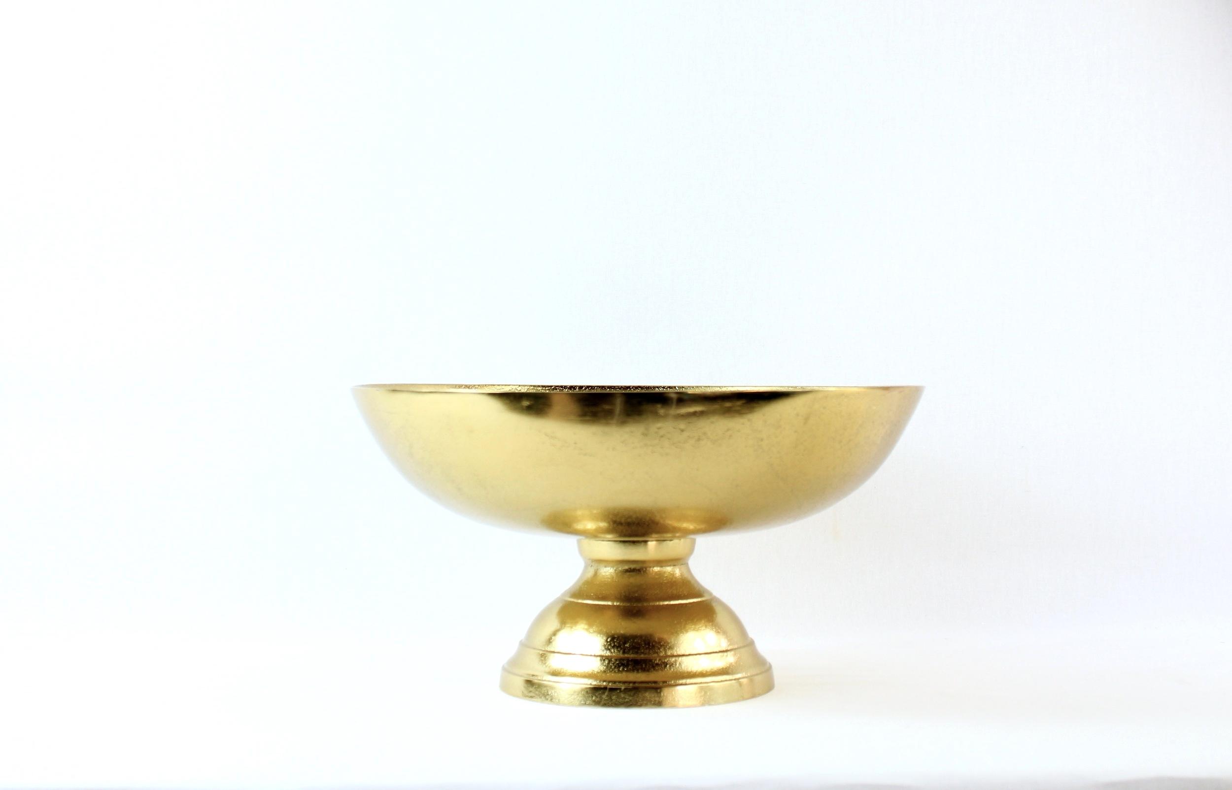 Gold Pedestal Bowls