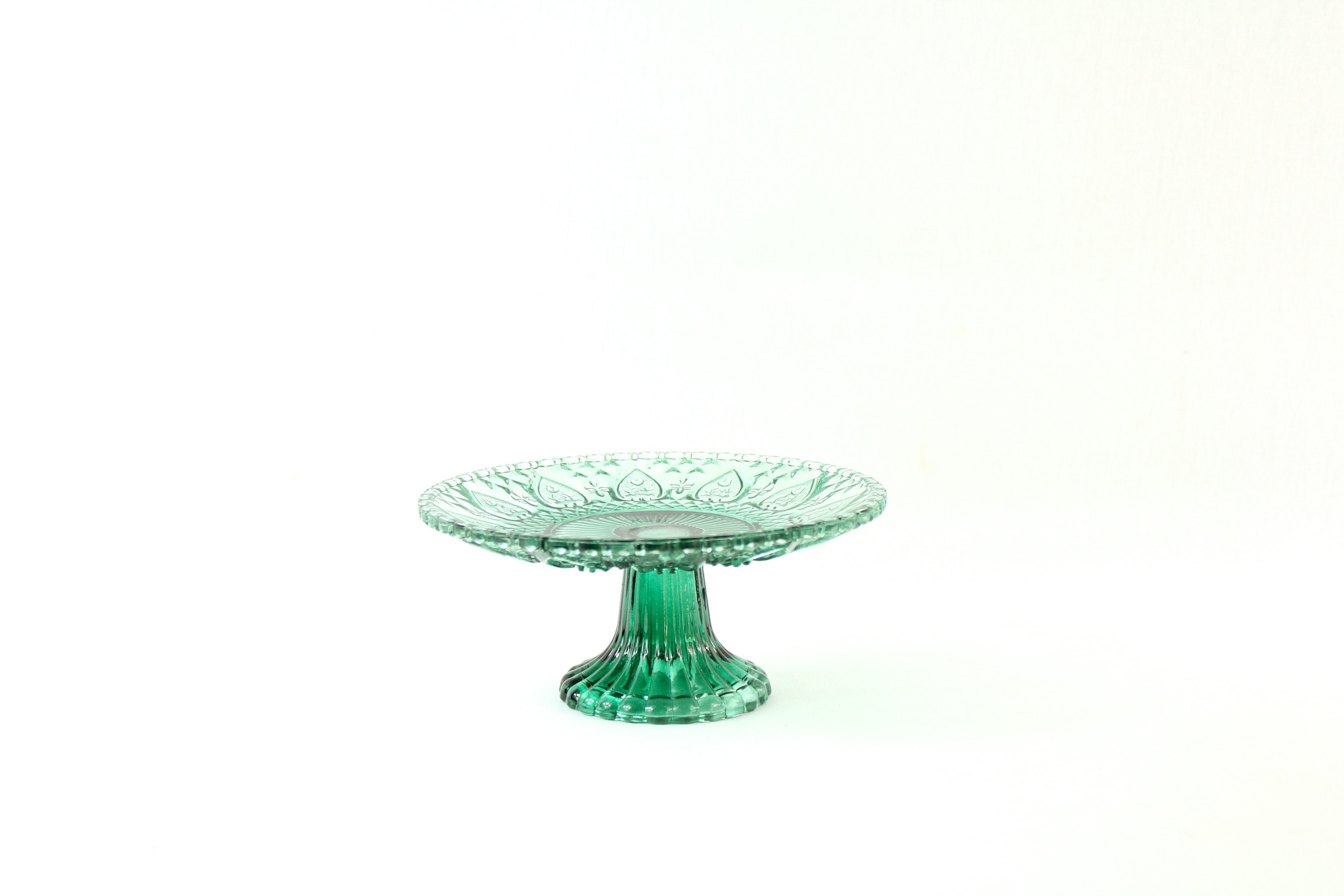 Small Green Cake Stand