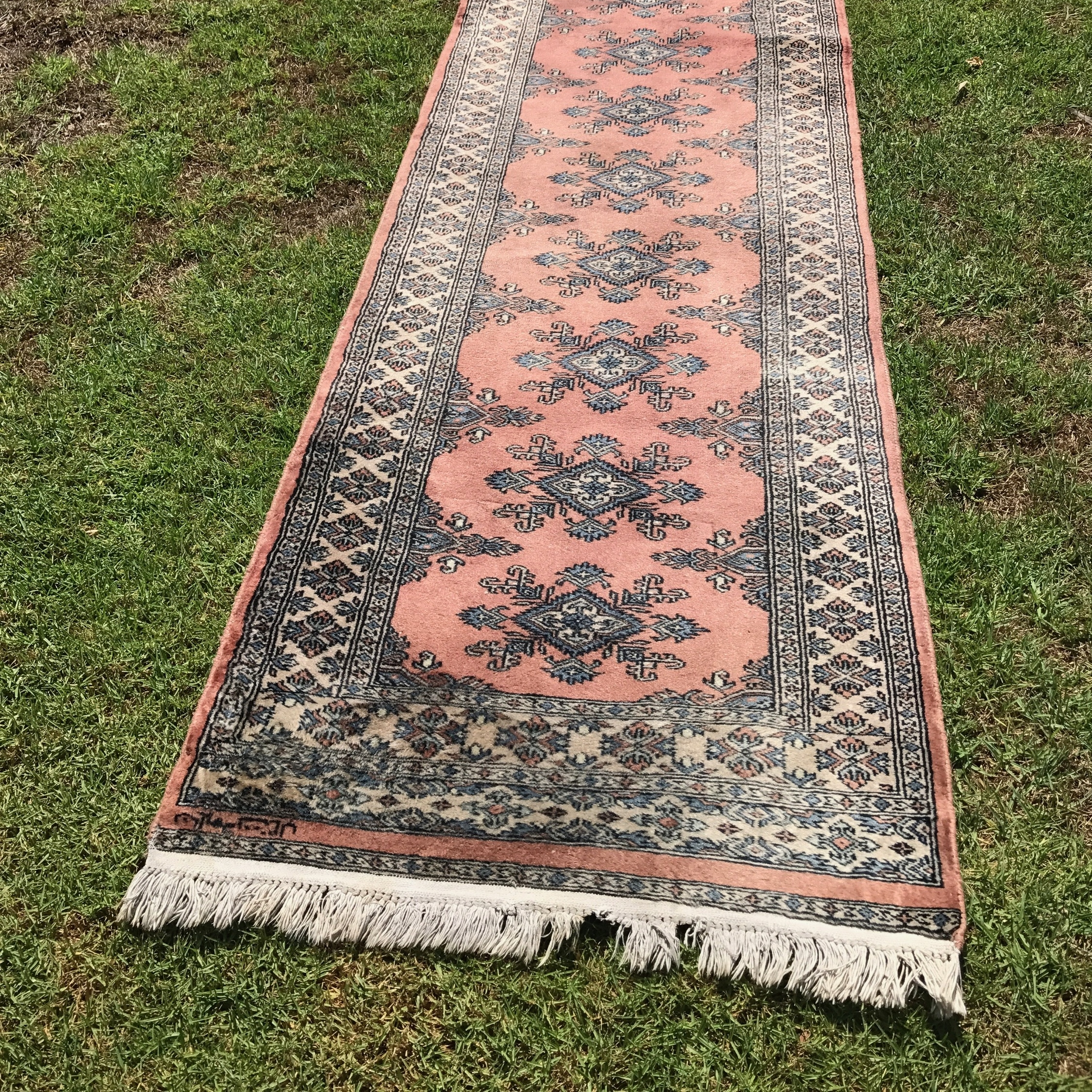 Dusty Pink Runner Rug