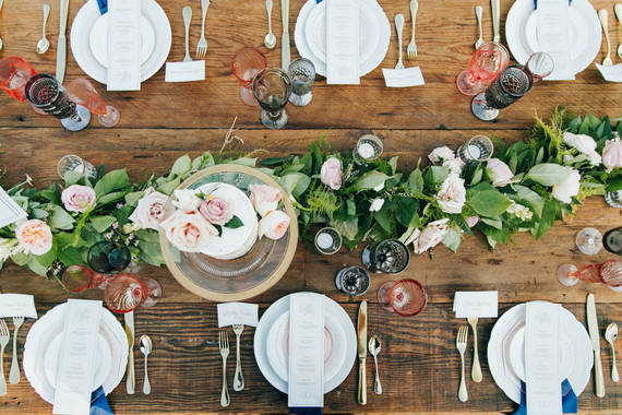Stylish Rustic Malibu Wedding