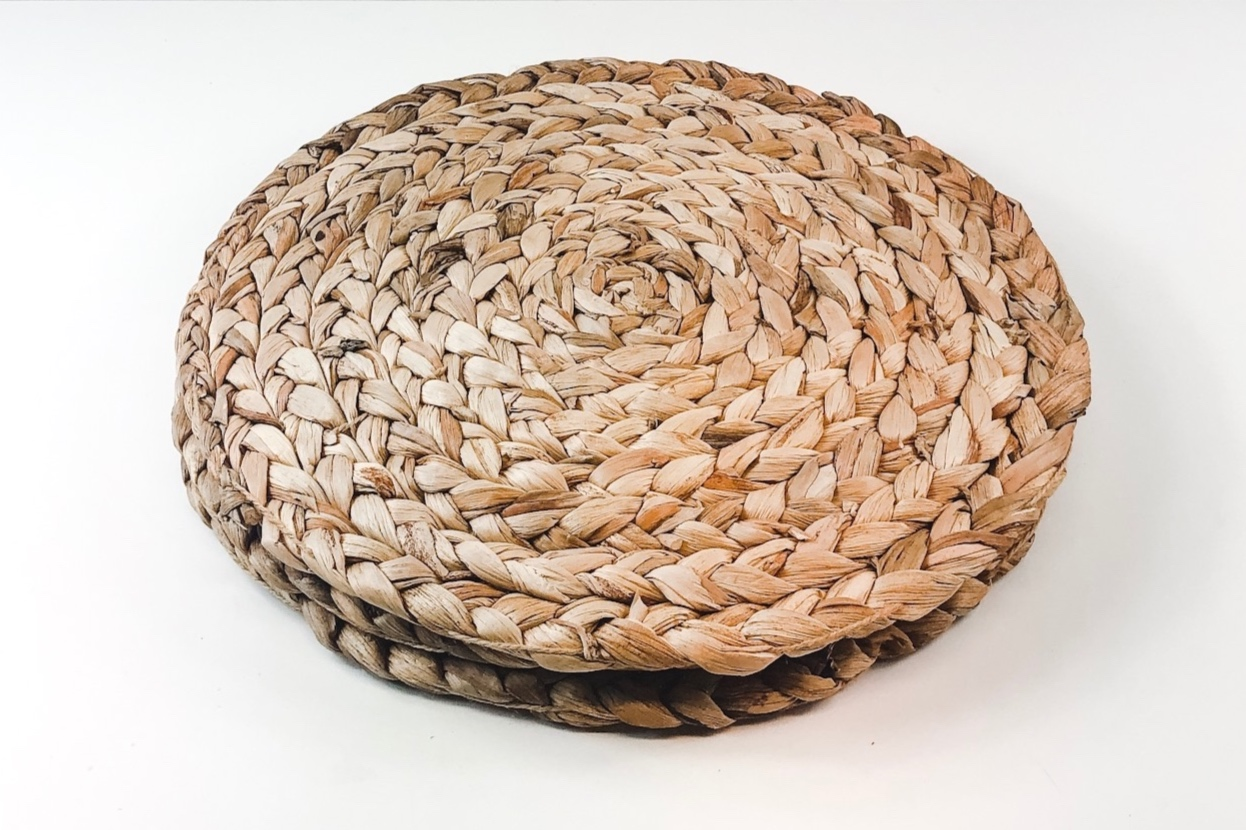 Woven Hyacinth Charger