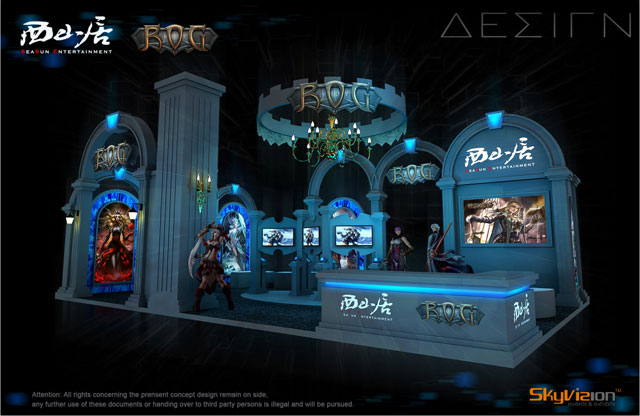 Relics of Gods' amazing booth at Gamescon