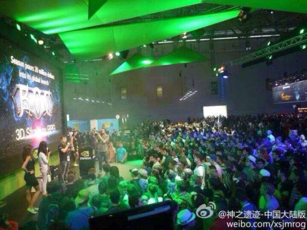 Nvidia showcasing Relics of the Gods