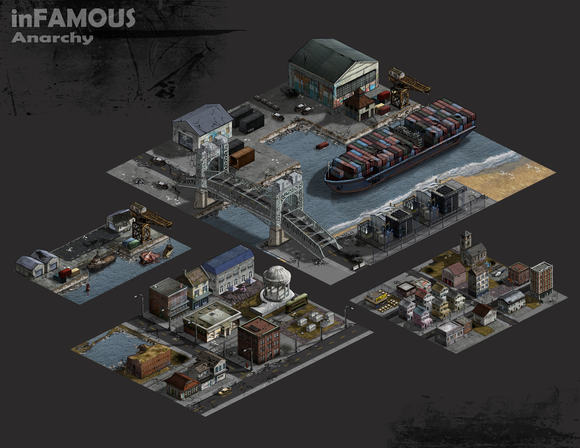 KJ Yu's work on SCEA's social game Infamous Anarchy