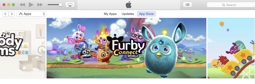 Concept Art House's marketing work on display in the iTunes store.