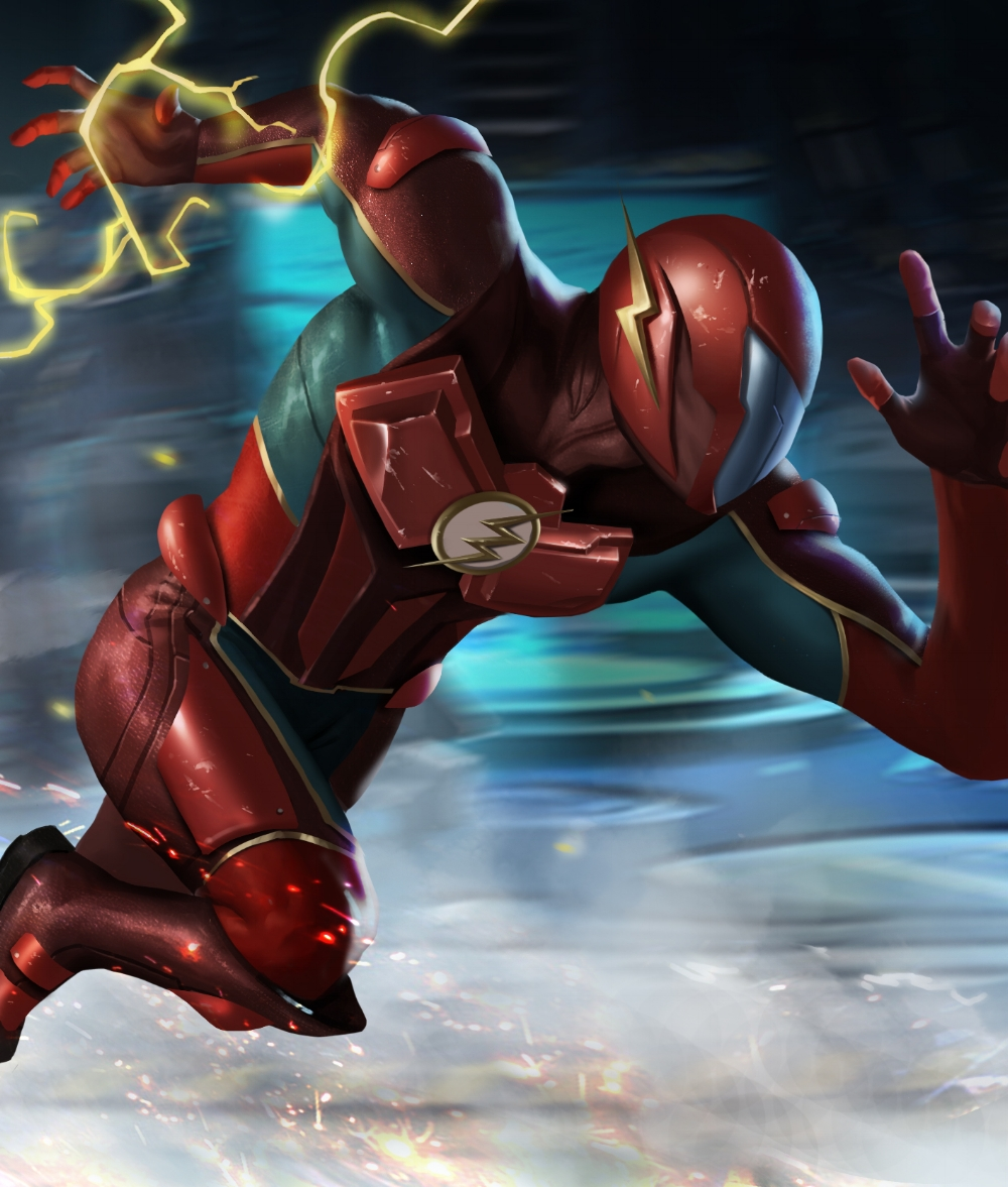 Flash, CAH for Injustice 2