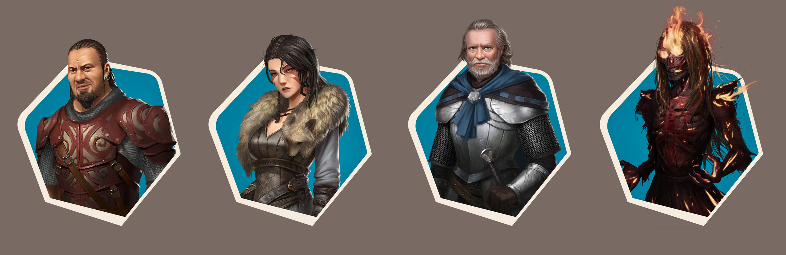 Art and character designs by Concept Art House