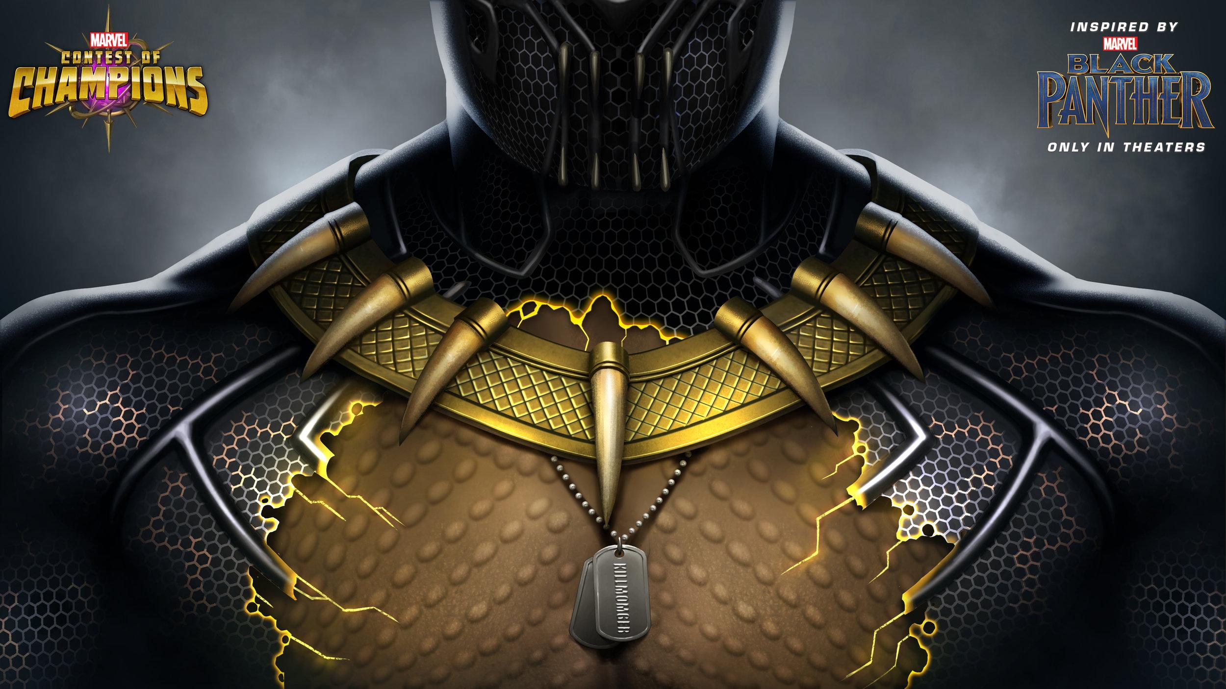 Killmonger teaser by Concept Art House