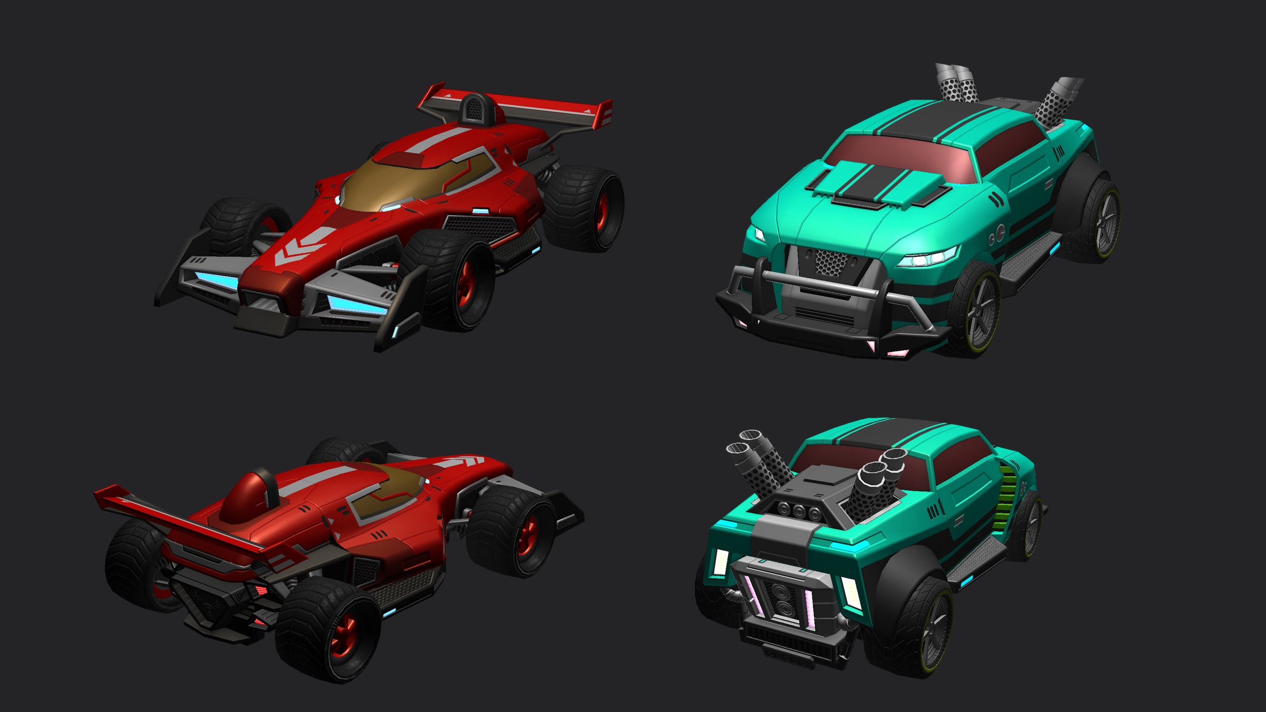 3D vehicles CAH designed for this game