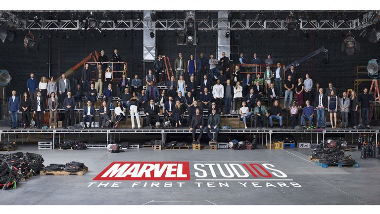 Marvel Studios Class Photo -  The First Ten Years