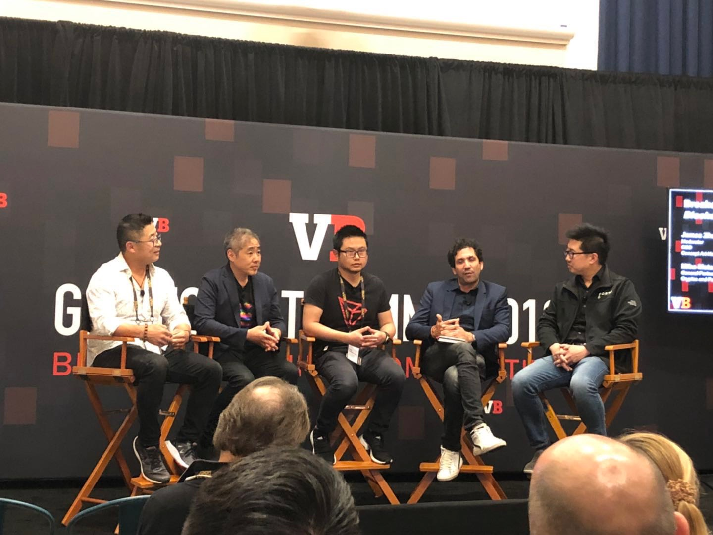 "The ""Blockchain Comes to Games"" Panel Moderated by the CEO of CAH"