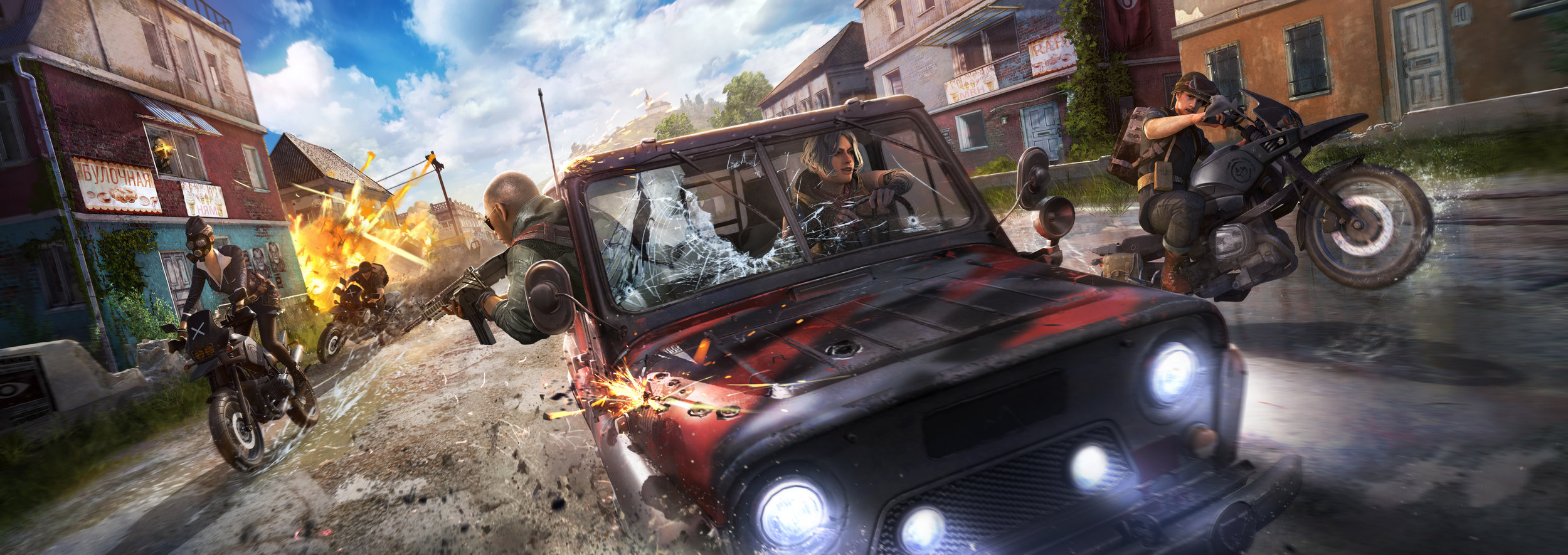 Key art piece created by CAH prior to Season 4 release (Copyright: PUBG Corp.)