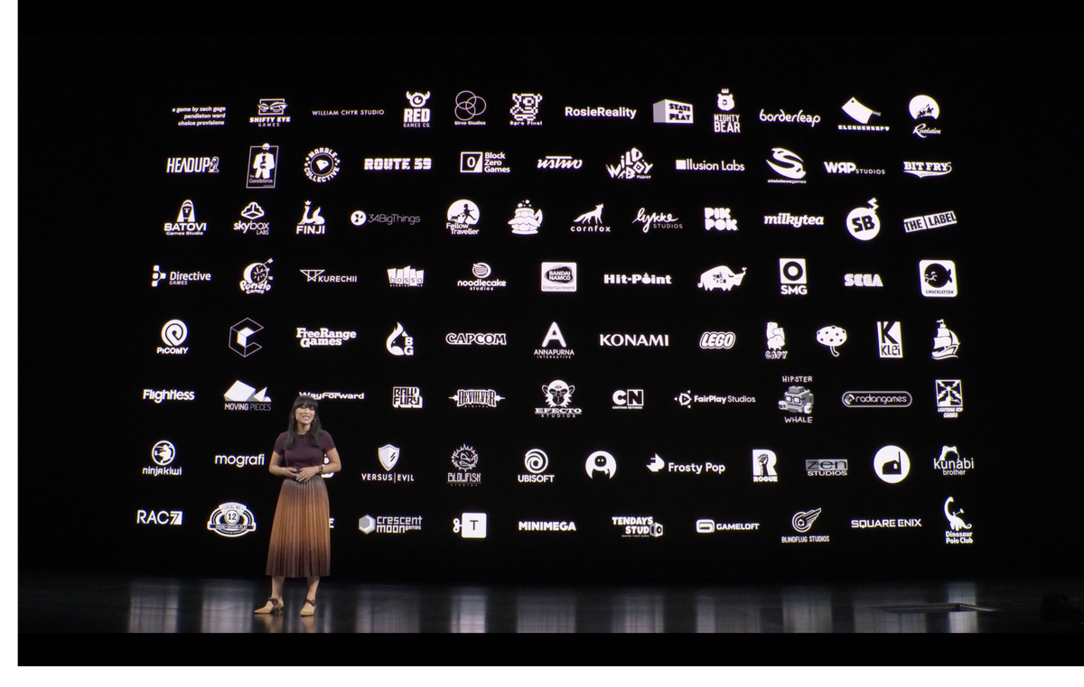 Extensive list of developers (photo source: The Verge)