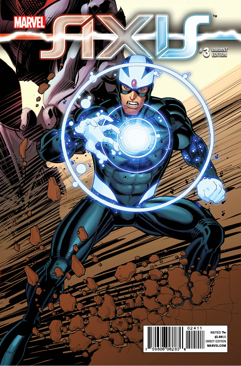 Image credit: Marvel Comics Axis Variant Cover
