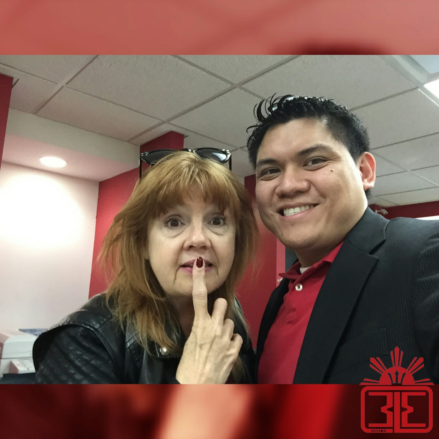 Annie Golden and Myself