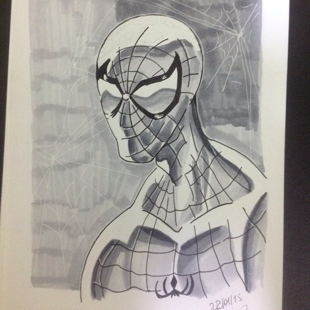Spider-Man by William Miron Marinho