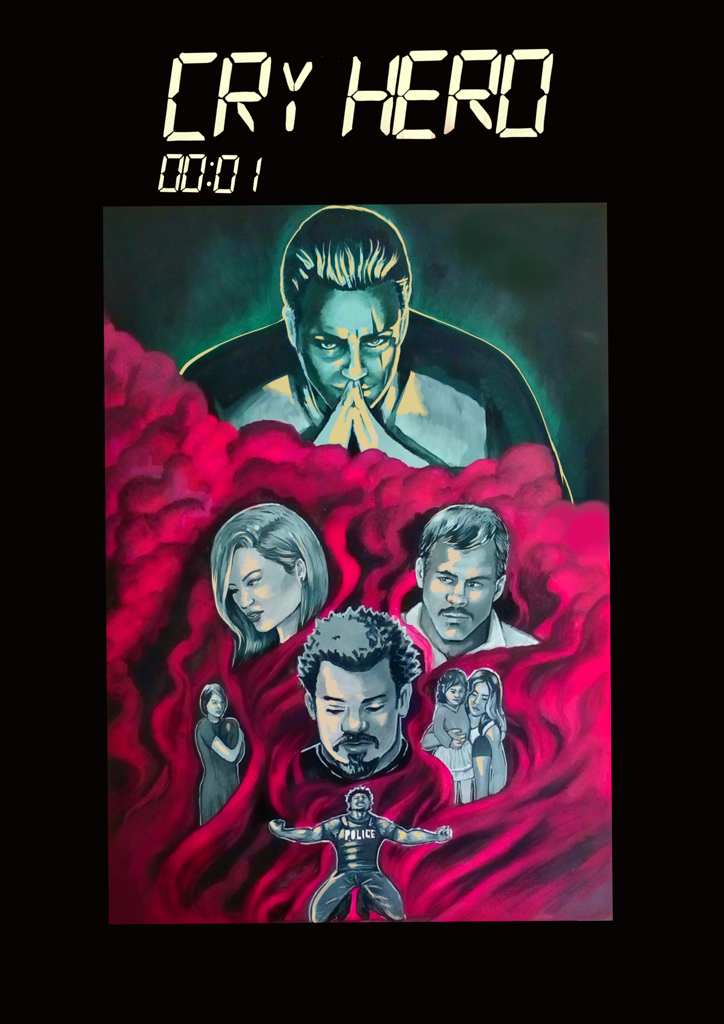 Cry Hero Issue 1 Cover