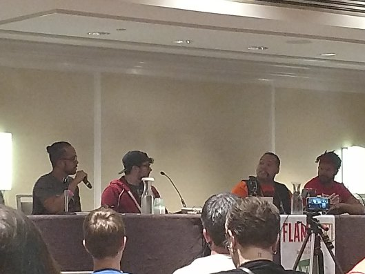 Final Fantasy panel