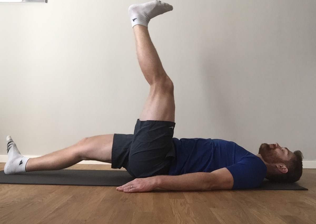 Image 2 - Active-Static Hamstring Stretch