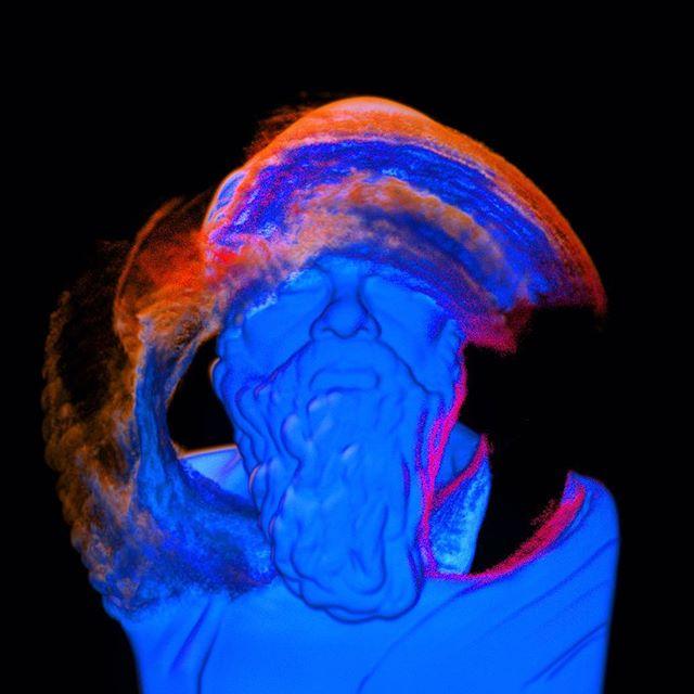 Indotinted 2 . . #socrates #motiongraphics #designphilosophy #mdcommunity #3dart #turbulencefd #maxon #cinema4d #graphic_arts #aigadesign #design #onbooooooom #hypebeast #vapetricks #vdb #voxels #octanerender #art_spotlight #moderndesign #motionographer #houdini #redshift #mograph #losangeles #californiaartist #designprocess #artstudio