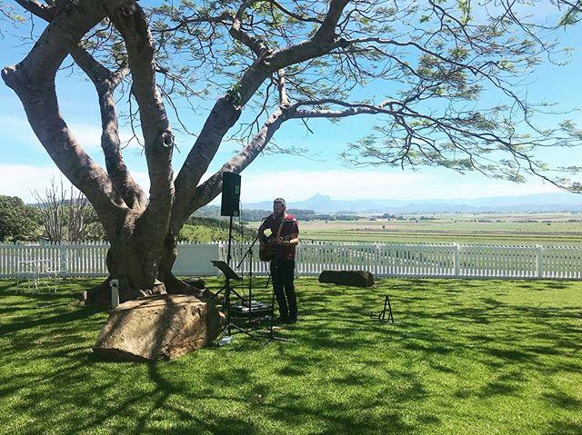 Today's wedding spot! @fins.plantation.house . . . . . #graceandbeau #wedding #acousticduo #music #coversweddingmusic #byronbayweddings #byronbay #finsplantation #love