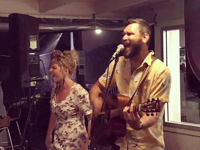 Having a good old sing at Des' 60th at @byronbaygolfclub a couple of weeks ago!  Looking forward to playing there again in the new year! . . . . . #graceandbeau #music #acousticduo #acoustictrio #livemusic #graceandbeaumusic #gigs #byronbay #byronbaygolfclub #byronbaymusic
