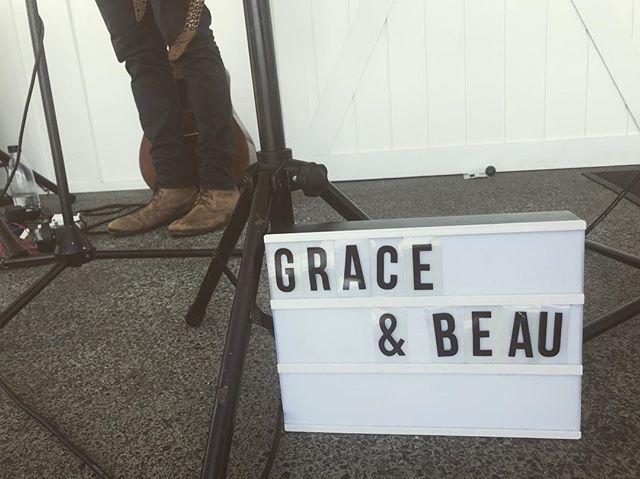 Today was fun ✌🏼 @summergroveestate . . . . #graceandbeau #music #livemusic #acousticduo #weddingmusic #graceandbeaumusic #gigs #byronbay #tweedcoastweddings