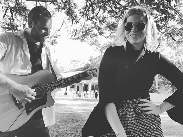 It's been a while! We are back bringing you the tunes Friday evening @theparkhotel_suffolkpark from 6-9 🍻 come hang with us . . . . . #graceandbeau #music #acousticduo #byronbay #byronbaymusic #livemusic #suffolkpub #suffolkpark