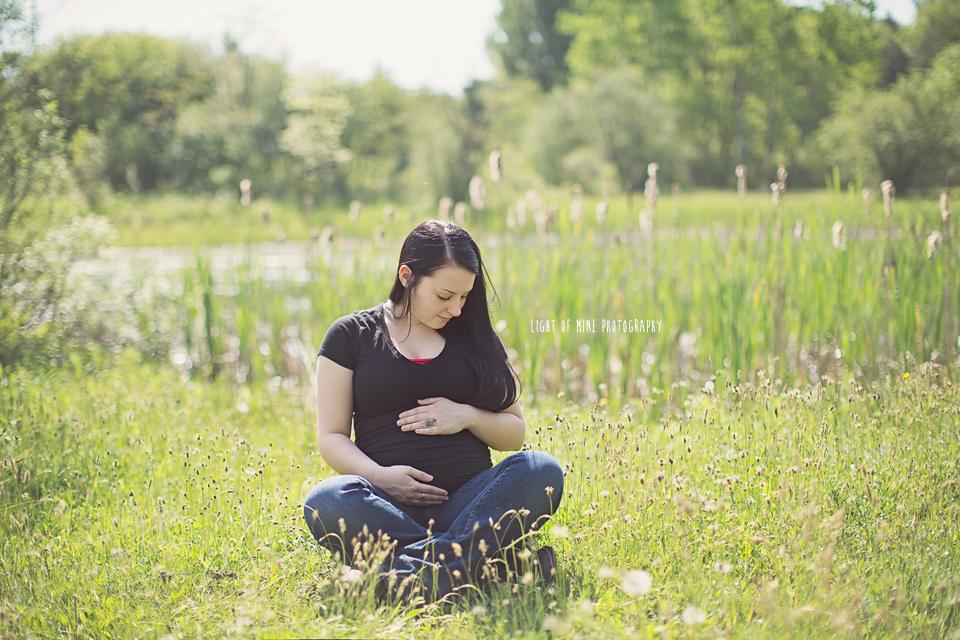 Rome NY Maternity Photographer