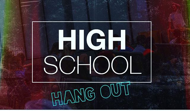 Highschoolers!!! One week from today we're all hanging out! Next Saturday, February 27th at 3 PM! You can't miss it🎉 It's going to be great time!