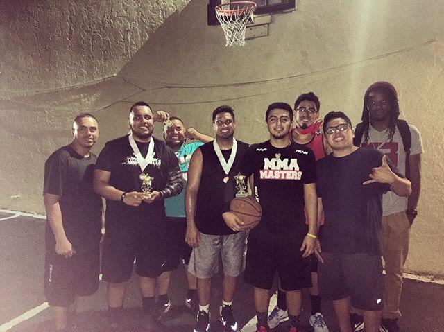 Basketball Tournament CHAMPS!!!