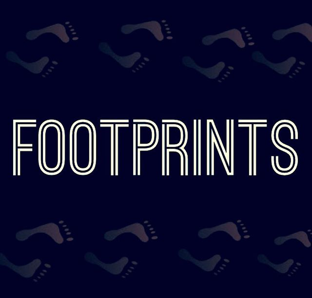 """2 days until youth night!! We continue our STEPS series with """"Footprints""""! Can't wait to see you there ! Bring a friend !!"""