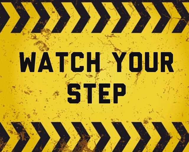 """God bless everyone ! It's almost Friday and we will be continuing our monthly series with the topic """"Watch your step"""". Hope to see you all! Bring a friend !!"""