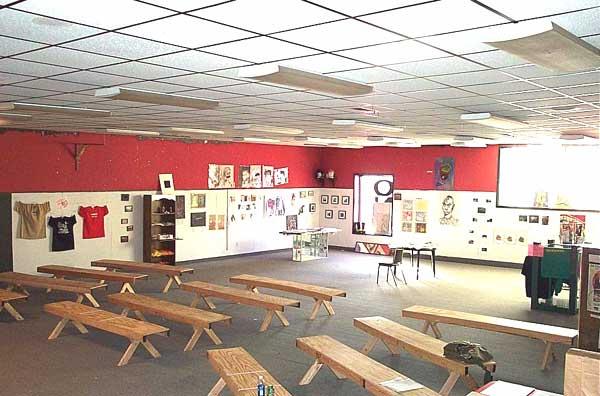 PS1's original space above the Deadwood c. 2003