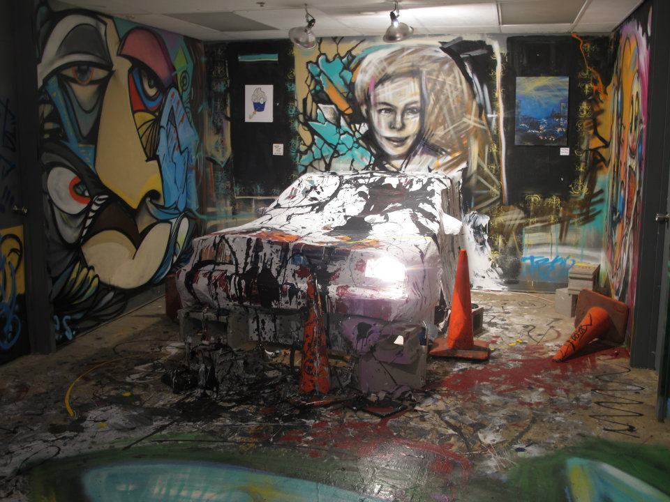 Artists Mark'it exhibition in the Jefferson Building Space