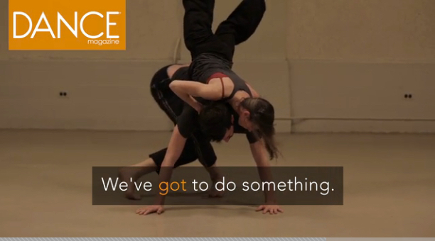 OUR EFFORTS FEATURED IN DANCE MAGAZINE  -