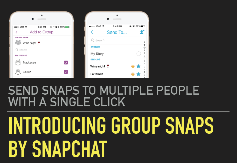 Snap better with Group Snaps