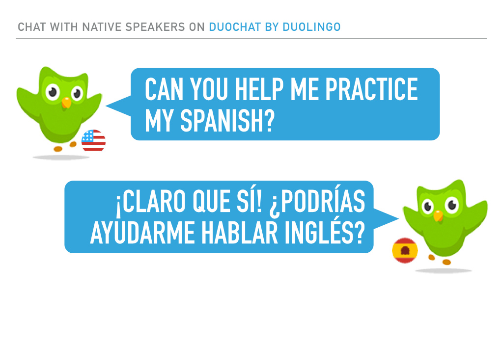 Get from fearful to fluent with Duochat