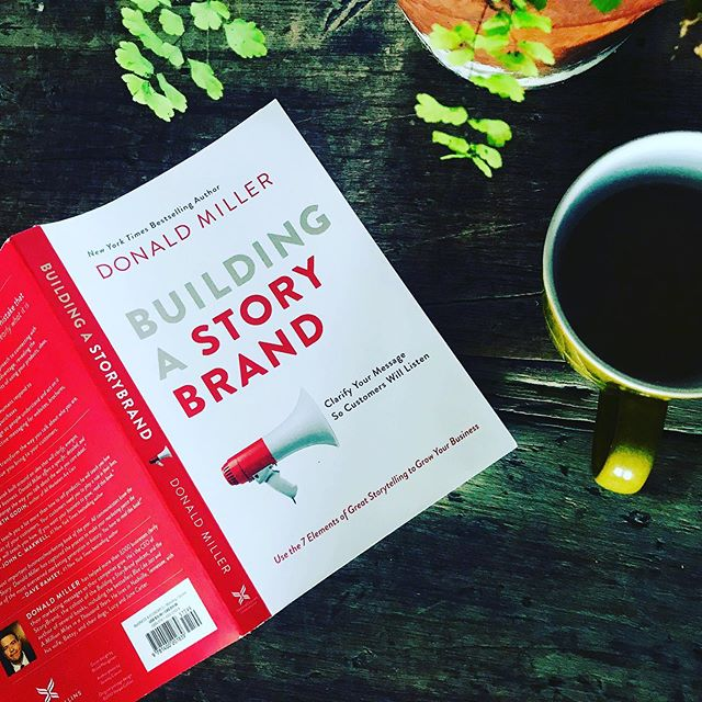 Building a Story Brand by Donald Miller. Great book, simple and effective. Helps you cut through the noise by clarifying your message. Highly recommended! #storybrand #donaldmiller