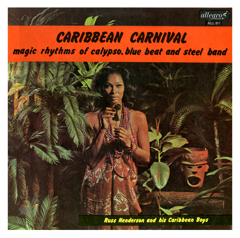 Russ isn't motivated by releasing music but the very few records he did are worth pursuing. Below is a track from Caribbean Carnival.