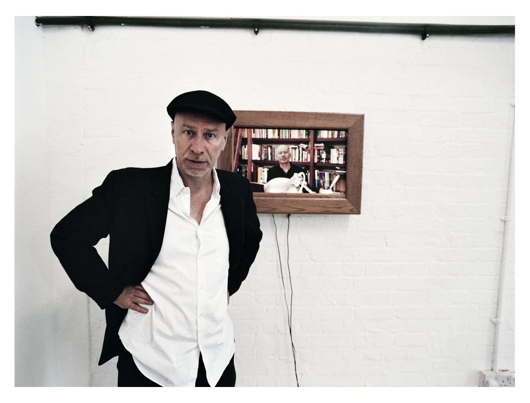 Matt Johnson with Peter Wilkins Artwork