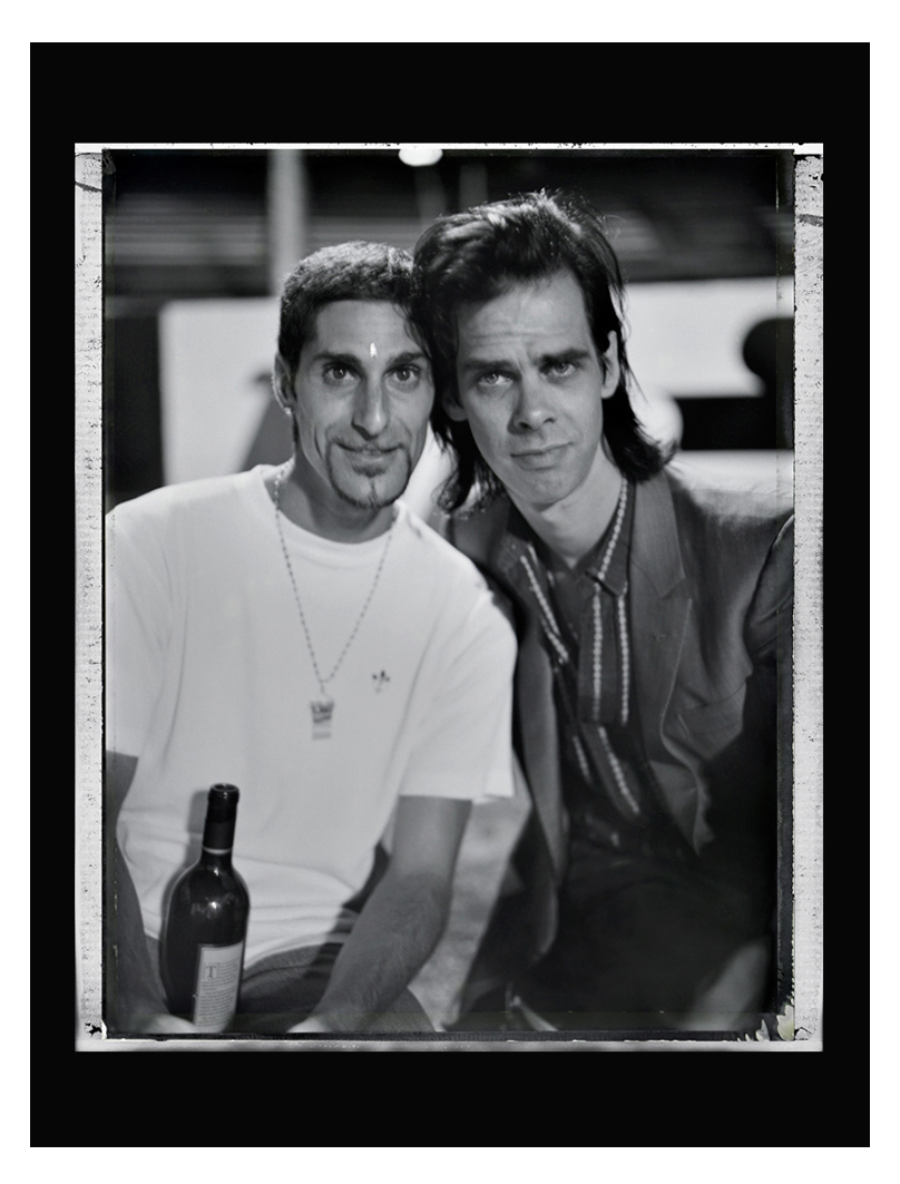 Perry Farrell and Nick Cave