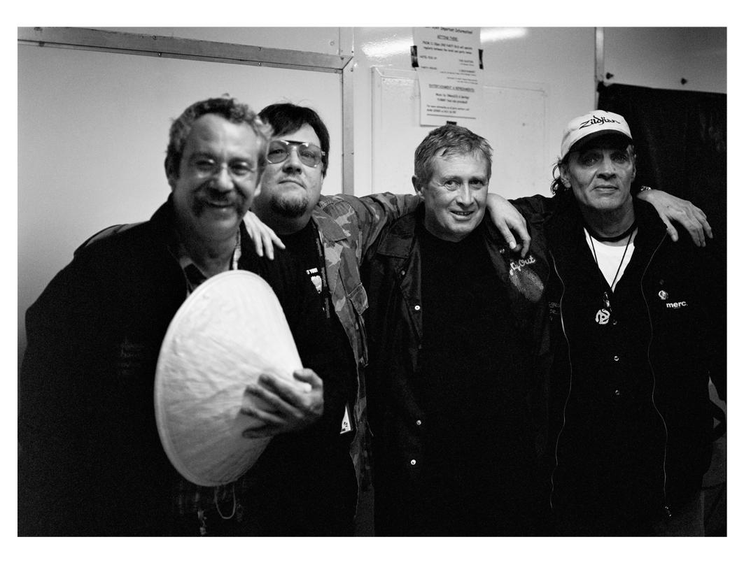 Mike Watt, Ron Asheton, Steve Mackay, Scott Asheton 'The Stooges'