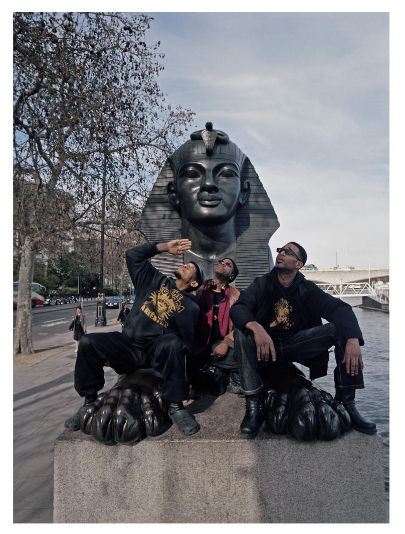 Yhaya with Hotep & Dave Davis - Cleopatra's Needle 2010
