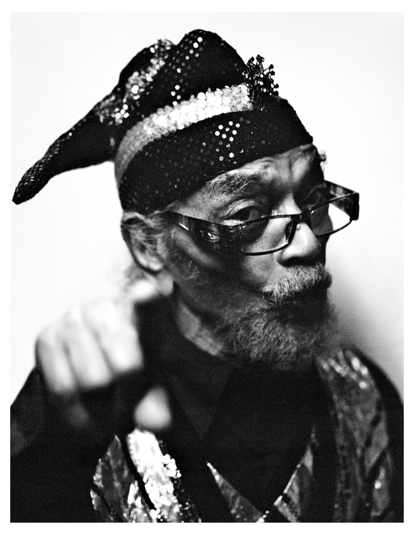 Marshall Allen - Sun Ra Arkestra photographed in 2013 at the Barbican Centre