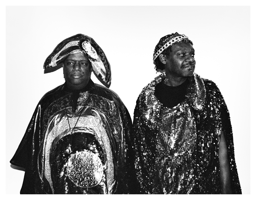 James Stewart & Cecil Brooks - Sun Ra Arkestra photographed at Islington Town Hall 2015